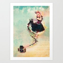 Fairy-Darling Art Print