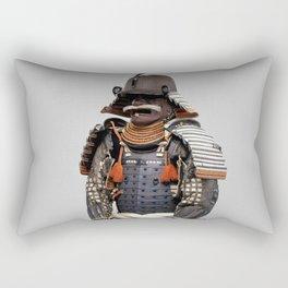 Historical Samurai Armor Photograph (18th Century) Rectangular Pillow