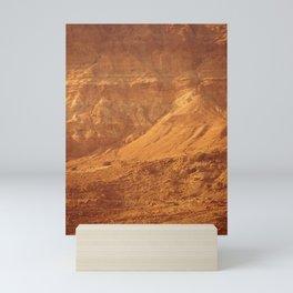 Mountain Texture Mini Art Print