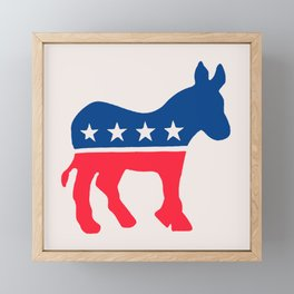 Liberty & Justice for ALL Framed Mini Art Print