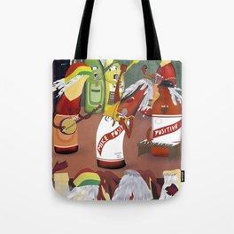 rasta & cheers Tote Bag