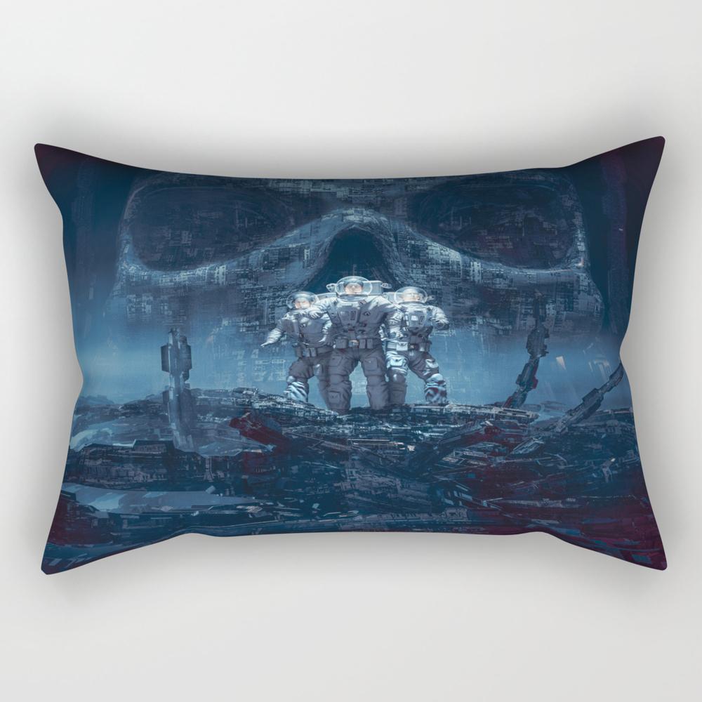 Planet Of Doom Rectangular Pillow RPW8497739