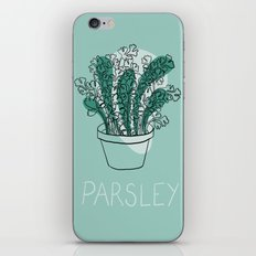 Parsley iPhone & iPod Skin