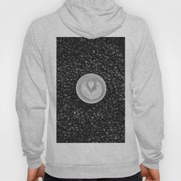 Coffee Beans (Black and White) Hoody