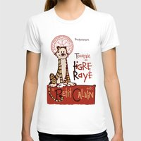 hobbes T-shirts featuring Le Tigre Rayé by Arinesart