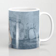 English Bulldog in Stonehenge Mug