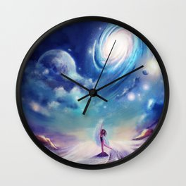 Dancing in the Universe Wall Clock