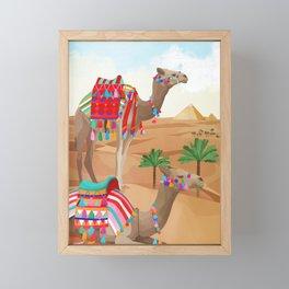 Desert Adventure Framed Mini Art Print