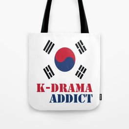 K-drama Addict Tote Bag