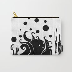 Happy Octopus B/W Carry-All Pouch
