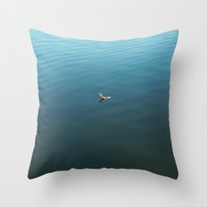 Feather on Water Throw Pillow