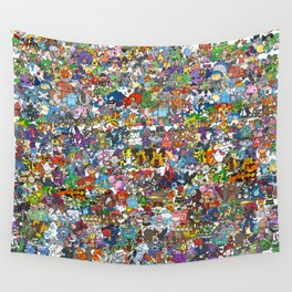 pokeman Wall Tapestry
