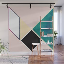 Tangram Square Five Wall Mural