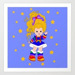 Lil Miss Brite Art Print