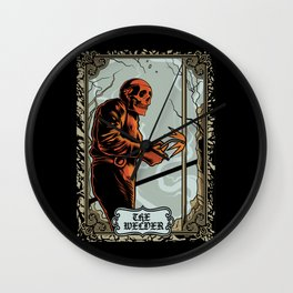 Skull Welder Tarot Wall Clock