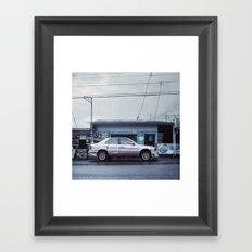 Costa Rican lowrider Framed Art Print