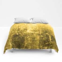 SunYellowTextured & Distressed Design Comforters