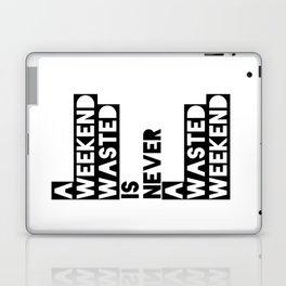 A Weekend Water (Black) Laptop & iPad Skin