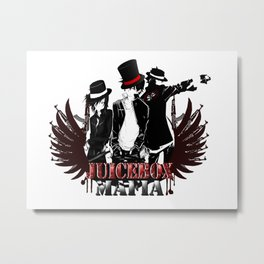 Juicebox Mafia Metal Print