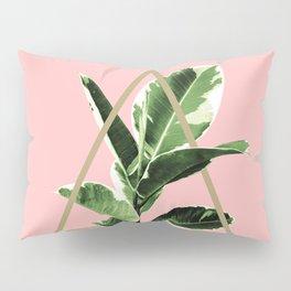 Ficus Elastica Geo Finesse #1 #tropical #foliage #decor #art #society6 Pillow Sham
