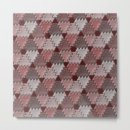 Geometrix 154 Metal Print