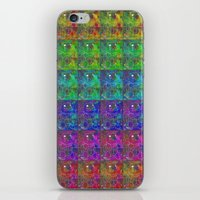 squirtle iPhone & iPod Skins featuring Squirtle Spectrum by pkarnold + The Cult Print Shop