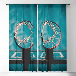 basketball hoop 6 Blackout Curtain