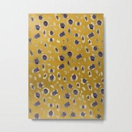 Leopard Animal Print Glam #10 #pattern #decor #art #society6 Metal Print