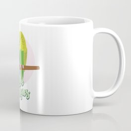 Funny Budgerigar Budgie Pet Bird Lover Nerdy Gift Coffee Mug
