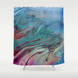 That Touch of Teal Shower Curtain