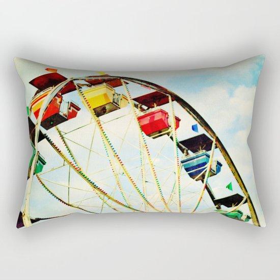round and round we go Rectangular Pillow