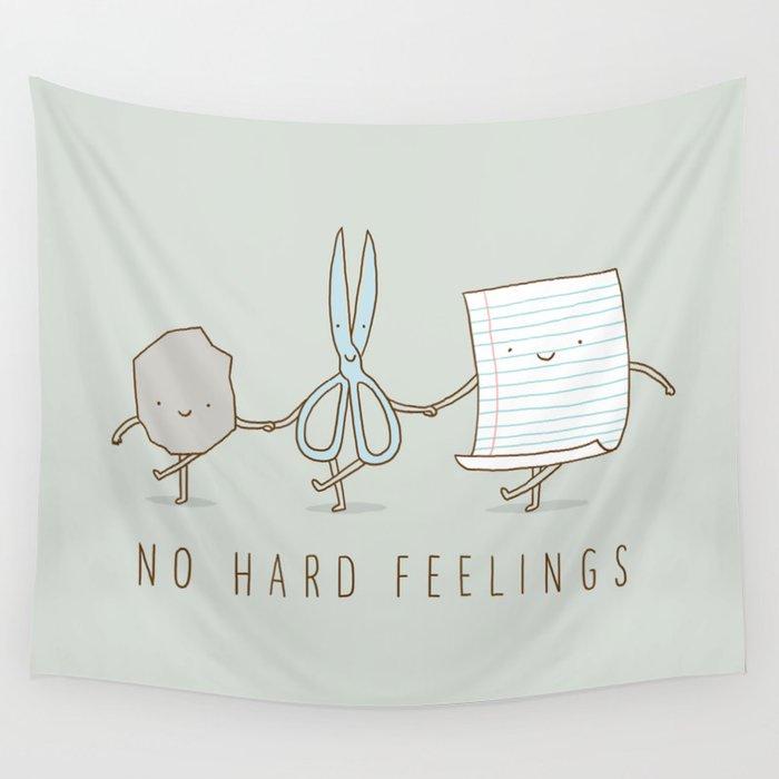 No Hard Feelings Wall Tapestry