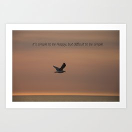 a true truth Art Print