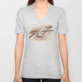 The Creation of Coffee Unisex V-Neck