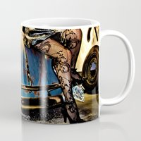 volkswagon Mugs featuring Bug Life by sysneye