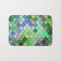 PRETTY - green palette Bath Mat