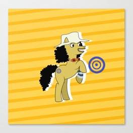 OP Pony Usopp Canvas Print