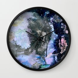 Spazio Cosmico Wall Clock