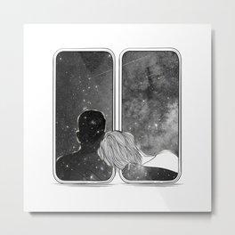 Deep calls. Metal Print