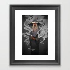 Stormcrow Framed Art Print