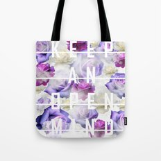 Keep An Open Mind Tote Bag