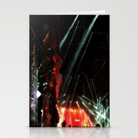 coachella Stationery Cards featuring Coachella '13 - Knife Party 03 by Ecstasy - Photography Project