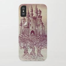 Castle in the Trees iPhone X Slim Case
