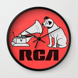 RCA RECORDS Wall Clock