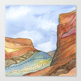 Canyon Cathedral 4 Canvas Print