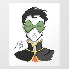 Boy Wonder Art Print