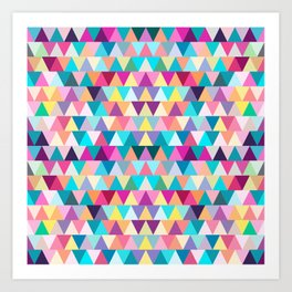 Triangles #4 Art Print