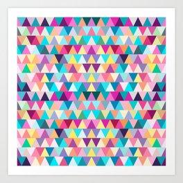 Triangles #4 Art Print