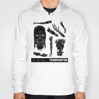 terminator Hoodies featuring Decommissioned: Terminator  by Josh Ln