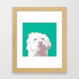 Good Doggy Framed Art Print